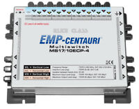 Satellite multiswitch 17/10 (17x10) MS17/10ECP-4, Made in EU, 4yrs. WNTY