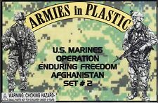 CLOSEOUT! Armies in Plastic US Marines Afghan Operation Enduring Freedom 1/32