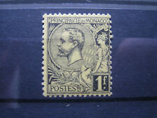 Mint Hinged Monacan Stamps