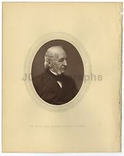 Spencer Horatio Walpole - Home Secretary - 19th Century Woodburytype Photograph