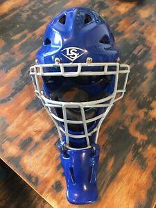 Louisville Slugger Catcher's Helmet PG Series 5 Youth PGS514 Royal Blue