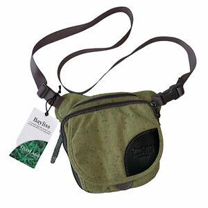 Overland Equipment Bayliss Crossbody Bag Turtle Green Travel Organizer Purse