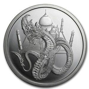 1~OZ .999 SILVER BU GEM ~ THE INDIAN DRAGON ~ WORLD of DRAGONS ~#5 SERIES~ $9.99
