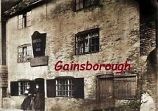 Queens Arms Inn, Gainsborough, Lincolnshire, Postcard sized Image