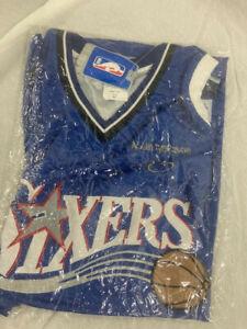 #3 Allen Iverson: Philadelphia 76ers Size 60 Majestic Jersey. Vintage . Bagged.