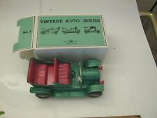 Vintage Made in Japan TN toy litho metal car auto with box