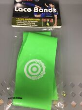 Unique Sports Soccer Lace Bands - Cleat Lace Covers, Neon Green Free Shipping