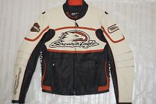 Harley Davidson Women's RACEWAY Screamin Eagle Leather Jacket L 98226-06VW Rare