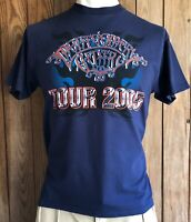 Montgomery Gentry Men's Large Tshirt 2005 Tour Concert Blue Short Sleeve Country