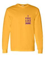 I Feel Like Kobe - Kanye West - I Feel Like Pablo - Yellow Long Sleeve T Shirt