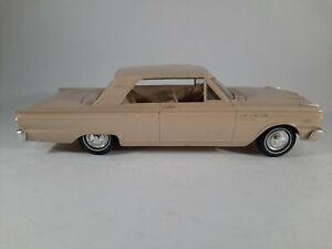 Vtg 1963 Ford Fairlane 500 Promo Plastic Car