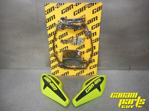 Can-Am MANTA GREEN Wind Deflector Hand Guard Kit w/ Mounting Kit Wrap Around