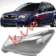 For Subaru Forester 2013-2018 Left Side Headlight Cover Transparent PC + Glue