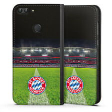 Huawei P smart (2018) Tasche Hülle Flip Case - Stadionrasen FC Bayern München
