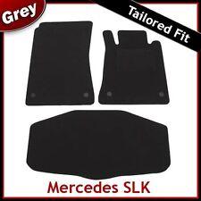 Mercedes SLK R171 2004 - 2009 2010 2011 Tailored Carpet Car & Boot Mats GREY