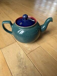 Denby Harlequin Teapot 150mm Tall inc Lid