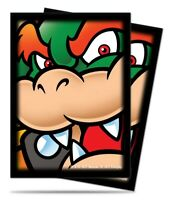 ULTRA PRO 65 STANDARD DECK PROTECTOR SLEEVES SUPER MARIO: BOWSER 84594 FIT Magic