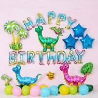 4D Dinosaur Theme Foil Balloon Candy Bag Baby Shower KIDS Birthday Party Decor