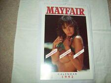 Mayfair Magazine's 1992 Calendar MINT Condition