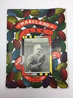 October 25 1952 NCAA Football Program Maryland vs LSU VG Rare College Football