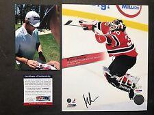 Martin Brodeur Hot! signed Devils 8x10 photo PSA/DNA cert PROOF!!