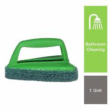Scotch-Brite Bathroom Brush With Abrasive Scrubber For Superior Tile Cleaning
