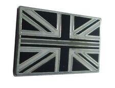 Thin Silver Line Grey Line HM Prison Service Union Jack Pin Lapel Badge TRF HMP