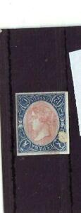 SPAIN ERROR Classic Scott.69a 12c  INVERTED QUEEN (1865) Cat $1,000+ RARE MVLH