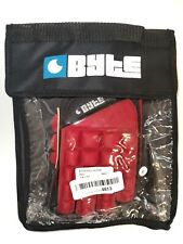 Byte Right Hand Field Hockey Glove Red Small