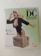 WOMEN OF THE DC UNIVERSE BLACK CANARY BUST MIB by HUGHES DIRECT(GREEN ARROW 1234