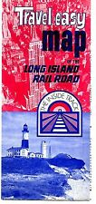 Travel easy map of the Long Island Rail Road the Inside Track 1970