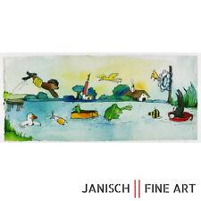 """JANOSCH - """"Liebster Hase, wie geht es dir"""", handsigniert, Auflage 99, 2013!"""