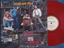 THE WHO Who Are You 1978 ORG MCA Label + Inner US Red Vinyl SUPERB CONDITION NM
