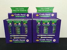 Crafe Away Slim Filters (for Roll Up Cigarettes) - 24 packs!