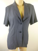 ☆  DOROTHY PERKINS Ladies Navy Blue Short Sleeved Blazer Jacket UK 12 EU 40 ☆