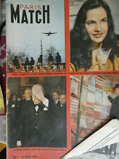 PARIS MATCH N° 1 Du 29 mars  1949