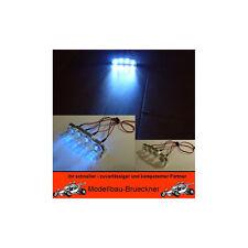 Beleuchtung Set Scheinwerfer Lichtleiste 4 x LED FG Carson Off On Road Glattbahn