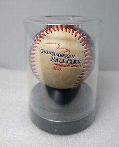 2003 Cincinnati Reds Great American Ballpark Inaugural Season Baseball