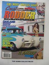 Custom Rodder Magazine   Summer 1993  EL Matador Found By Murphy & Stripper