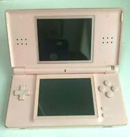 Nintendo DS Lite Console W/ AC Charger USG-001- Coral Pink - VERY GOOD Condition