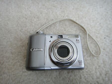 Canon Powershot Digital Camera A1100is  Silver Body  A1100 IS  12.1 MP