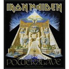 OFFICIAL LICENSED - IRON MAIDEN - POWERSLAVE SEW ON PATCH METAL EDDIE