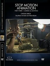 Stop Motion Animation: Part Three - Puppet Creation (DVD) Ships in 12 hours!!!
