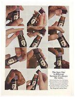 Original 1967 Print Ad Seagrams 7 Seven Whiskey Sure One Always Same Hand Art