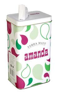 Yerba Mate Storage Container - YERBA MATE METAL TIN (ARGENTINA)