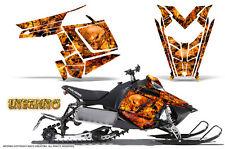 POLARIS RUSH PRO RMK 600/800 SLED SNOWMOBILE GRAPHICS KIT CREATORX INFERNO INFO