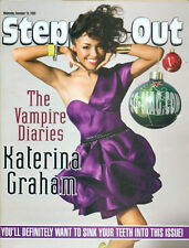 STEPPIN OUT - KATERINA GRAHAM COVER - THE VAMPIRE DIARIES