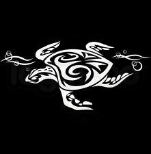 "Car Truck Vinyl Decal Sticker Tribal Turtle Beach 8""x4"""
