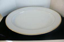 Noritake Heritage Fine China 4 Bread Butter Plates 2982 White Gold Trim