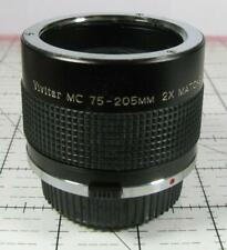Vivitar MC 75-205mm 2X Matched Multiplier forr Olympus OM Bayonet Mount Japan